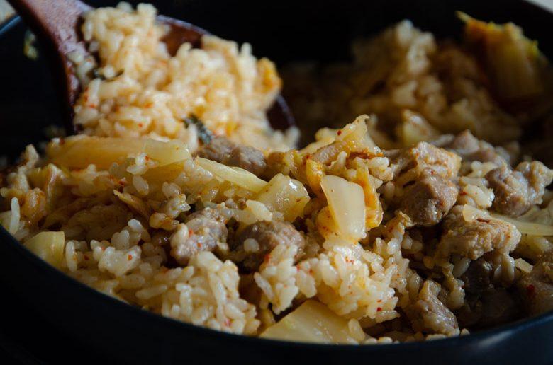 泡菜五花肉鍋飯