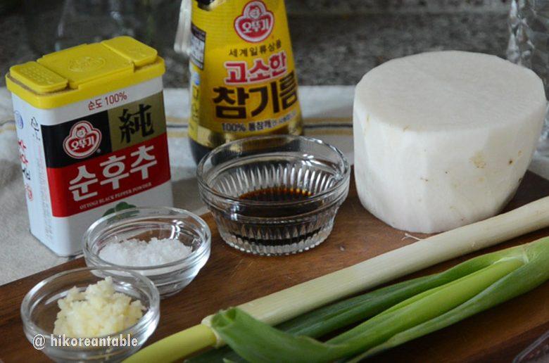 韓式牛肉蘿蔔湯