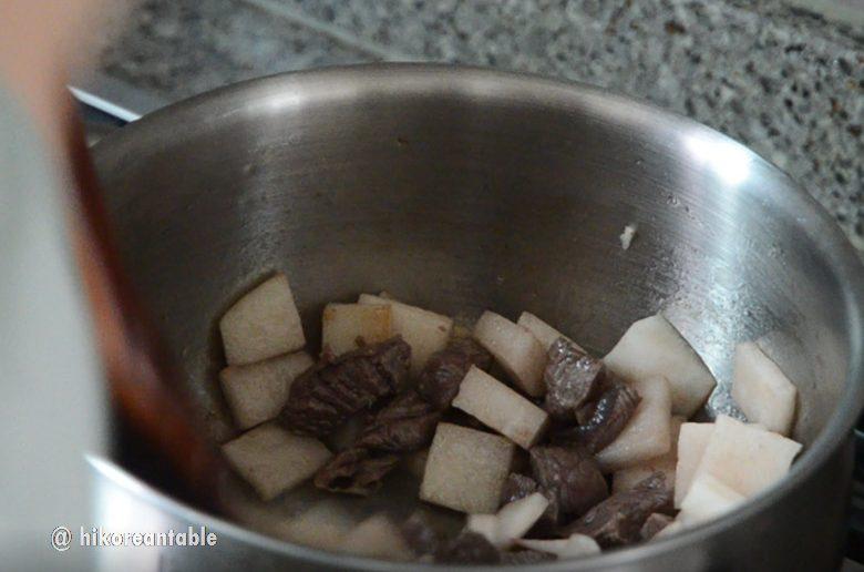 牛肉蘿蔔湯食譜