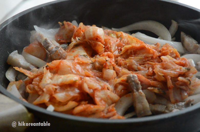 泡菜五花肉豆腐食譜