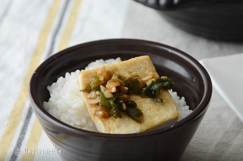 韓式煎豆腐