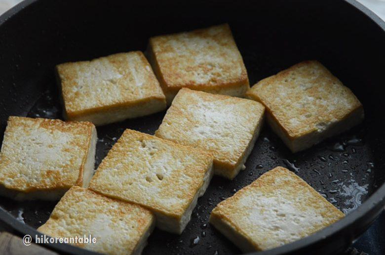 蔥花醬燒豆腐食譜
