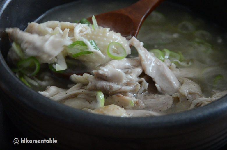 韓式清燉雞湯